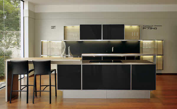 The poggenpohl 7340 kitchen by Porsche Design