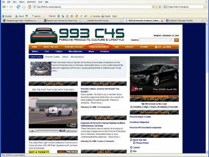 993C4S.com Continues to Expand and Improve