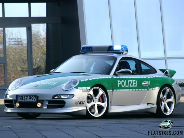 2005 Techart Porsche 911 Carrera Police Car