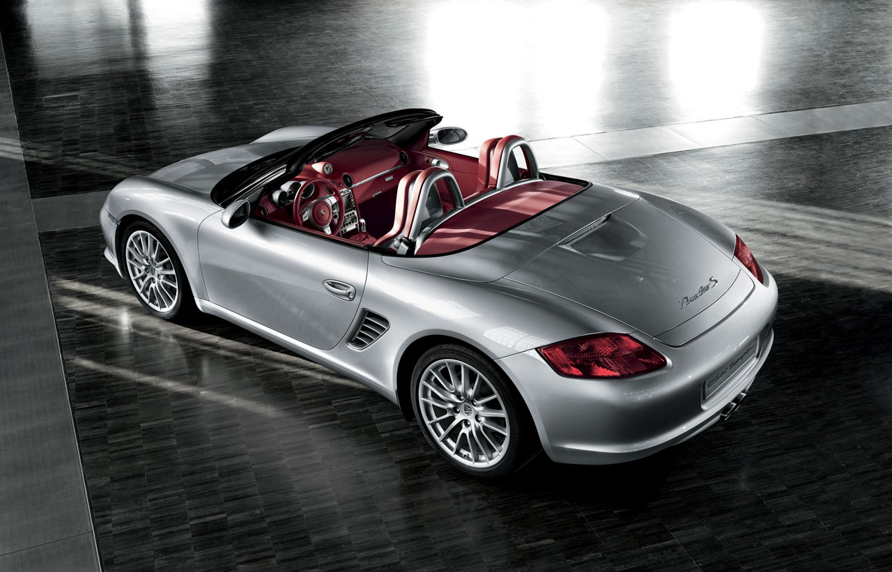 The New Porsche Boxster Rs 60 Spyder Flatsixes