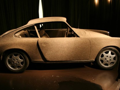 Gold and Tweed Covered Porsches…. Why?