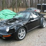 1988 Black Porsche Turbo for Sale