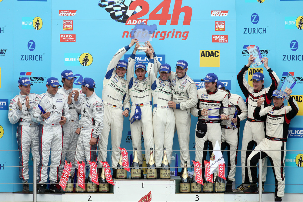 Porsche Wins The 2009 N 252 Rburgring 24 Hour Race For The 4th