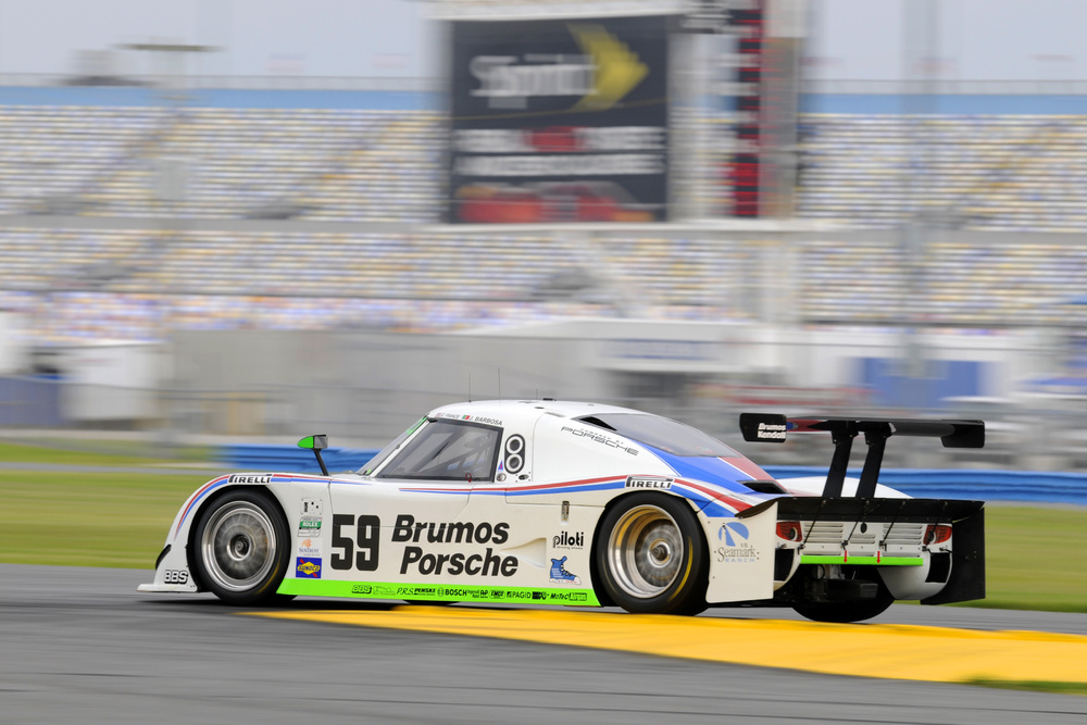#59 Brumos Porsche Racing Riley