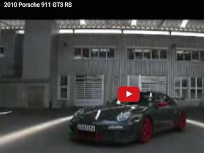 Video of the 2010 Porsche 911 GT3 RS. Turn the Volume Up!!