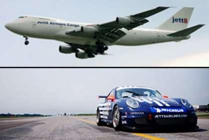 Which is Faster? a Porsche GT3 or Jet Plane?
