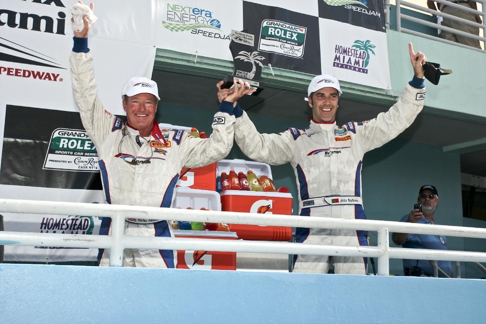 Hurley and Joao win Grand-Am Miami Grand Prix