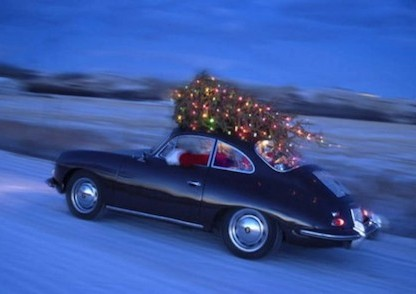 'Twas the Night Before Christmas. Porsche Style!