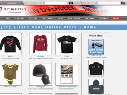 10% Savings on Flying Lizard Motorsports Team Merchandise