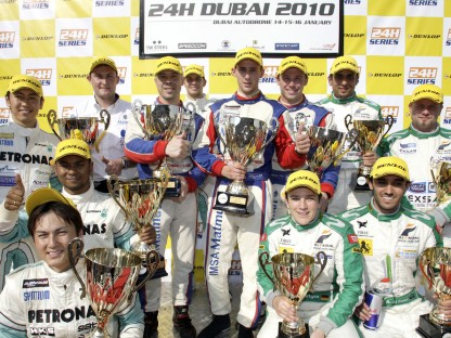 Porsche Starts the 2010 Motorsport Year with a Win in the Dubai 24 Hour Race