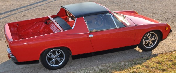 red porsche 914 pick-up