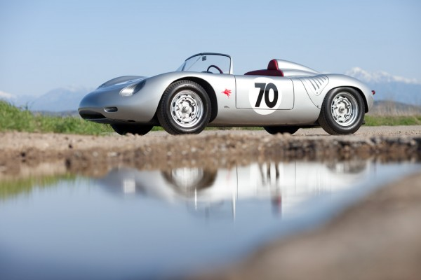 1961 Porsche RS 61 Stirling Moss