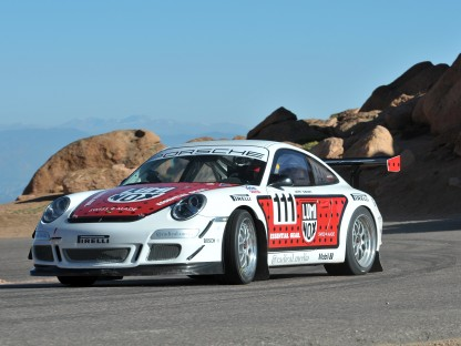 Pushing Porsches up Pike's Peak