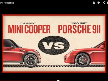 Can Mini win against Porsche?