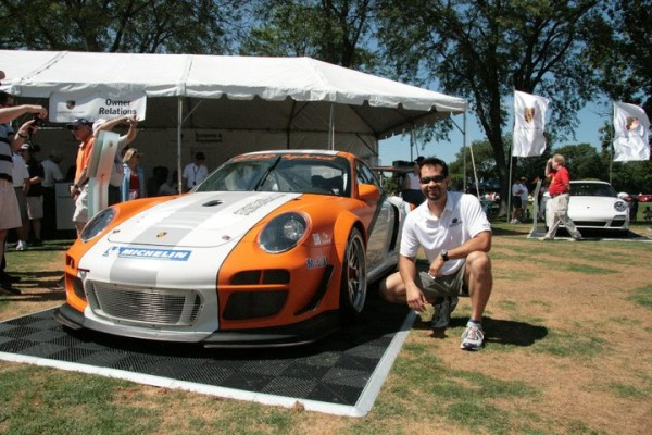 Porsche 911 GT3 R Hybrid at the 2010 PCA Parade, Christian Maloof