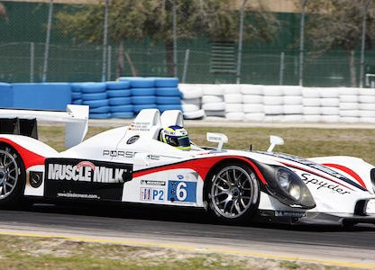 Muscle Milk Porsche RS Spyder Wins Michelin Green X Challenge at Lime Rock