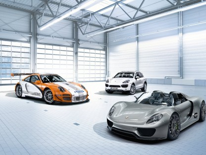 What do these three Porsches have in common?
