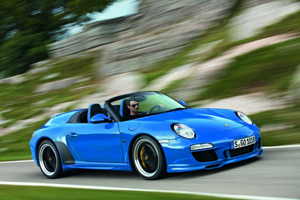 2011 Porsche Carrera Speedster In A Limited Edtion Of 356
