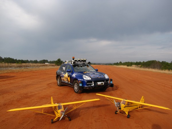 georgia tech porsche sting and two unmanned miniature aircraft