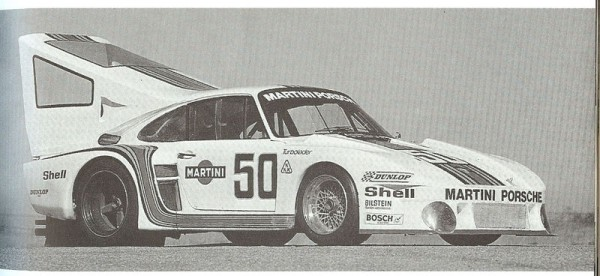 Porsche 935 modified for motor pacing for jean claude rude