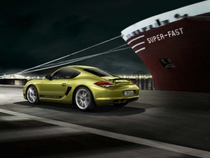 Watch the Introduction of the Porsche Cayman R LIVE!