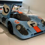 Gulf liveried Porsche 917 at the Museum