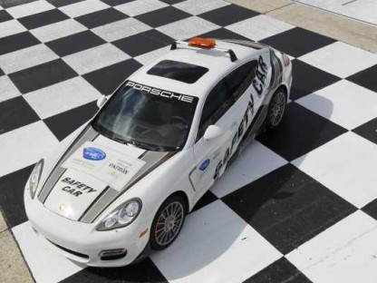 Porsche Panamera Joins the Cayenne as Official ALMS Safety Car