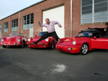 Caption This Porsche Photo and Win $50 Worth of Product from Griot's Garage