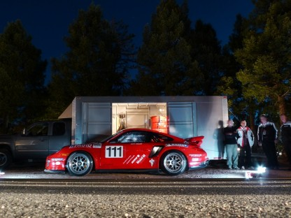 Jeff Zwart's Qualifying Results for Porsche in Pikes Peak International Hillclimb