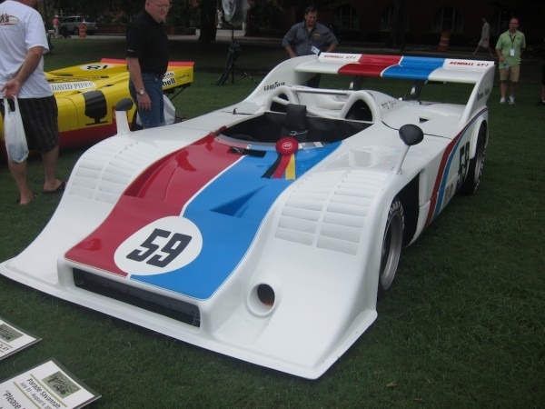 Brumos Porsche Historical Race Car