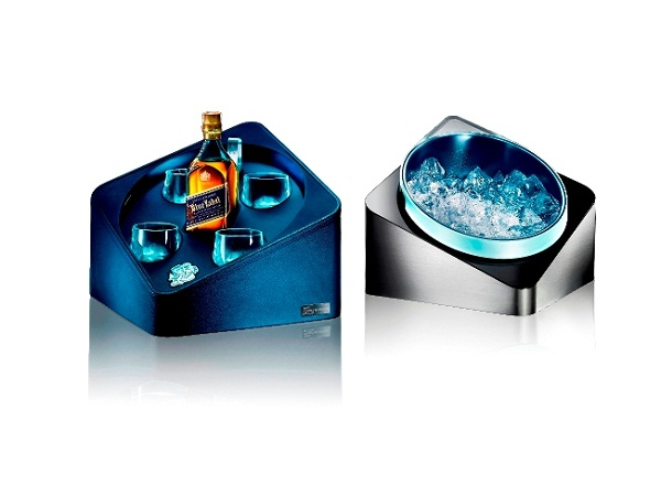 Porsche Design and Johnnie Walker Blue Cube