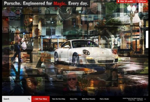 Porsche Everyday Filmakers My Daily Magic Contest