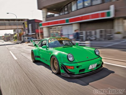 What will Ken Block do with a Rauh-Welt Begriff Porsche?