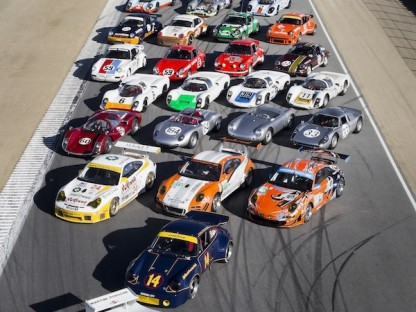 "Video: The Making of the Porsche Rennsport Reunion IV ""Family Photo"""