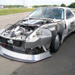 worlds fastest porsche 928 engine-side