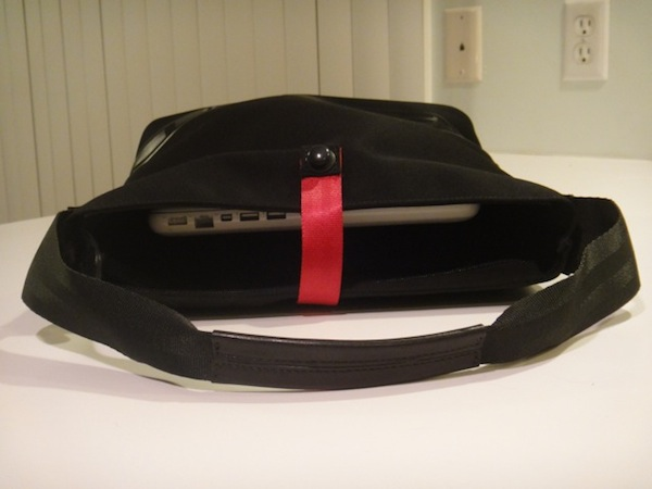 PTS Softop Handbag holding a macbook