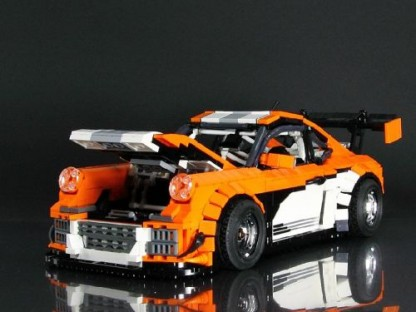 Racing Porsche Liveries Recreated in Lego Form