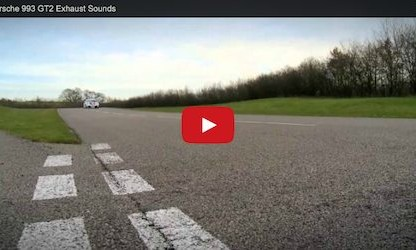 Video: Comparing the Porsche 993 GT2 Production Version to the Race Version