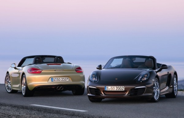 2013 Porsche Boxster and Boxster S in Brown and Gold