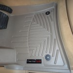 WeatherTech Digital Fit Floor Mat in Porsche Cayenne