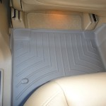 Rear Seat with Mat Installed Below