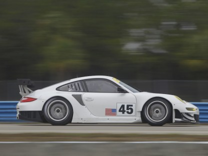 2012 Porsche 911 GT3 RSR Makes its Debut at Sebring