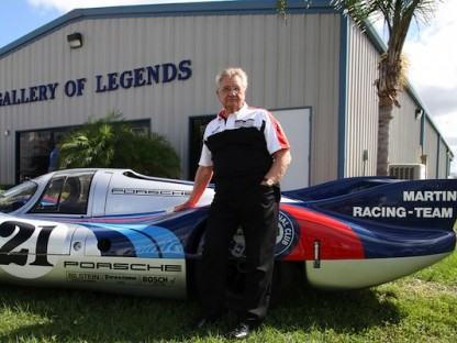 Hans Herrmann gets Inducted into the Sebring Hall of Fame