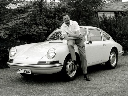 Ferdinand Alexander Porsche, Dead at 76, Forever Alive in the 911