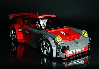We Can't Get Enough of These Incredibly Detailed Lego Porsches