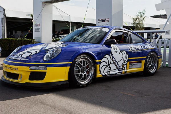 Porsche and Michelin's Bib