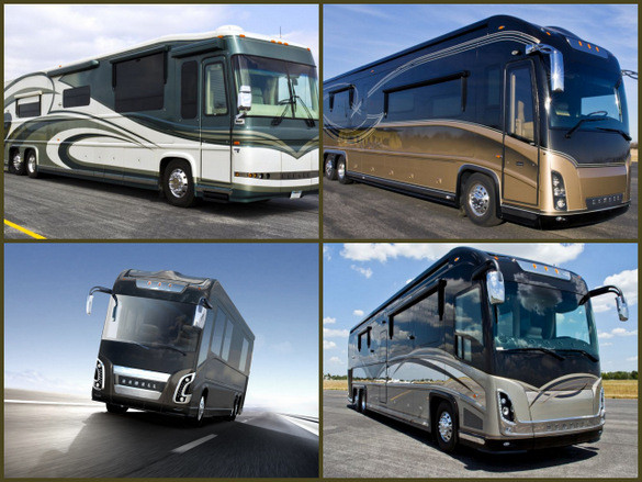 Porsche Designed RV from Newell Coach