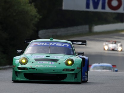 Porsche Results and Pictures in the ALMS at Mosport