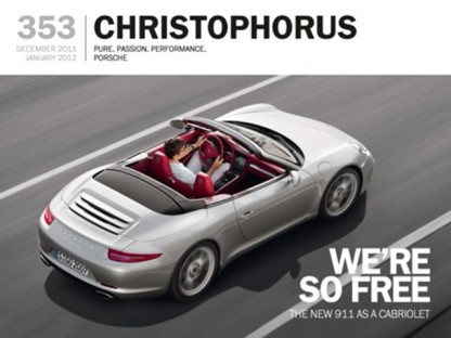 """Christophorus – The Porsche Magazine"" Wins Best of Corporate Publishing Prize"