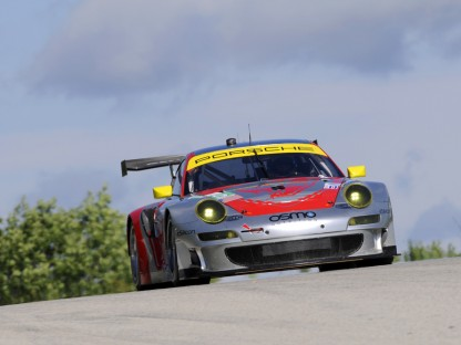 Porsche Results and Pictures in the ALMS at Road America